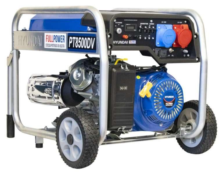 Generatore Hyundai mono-tri fase 8kw