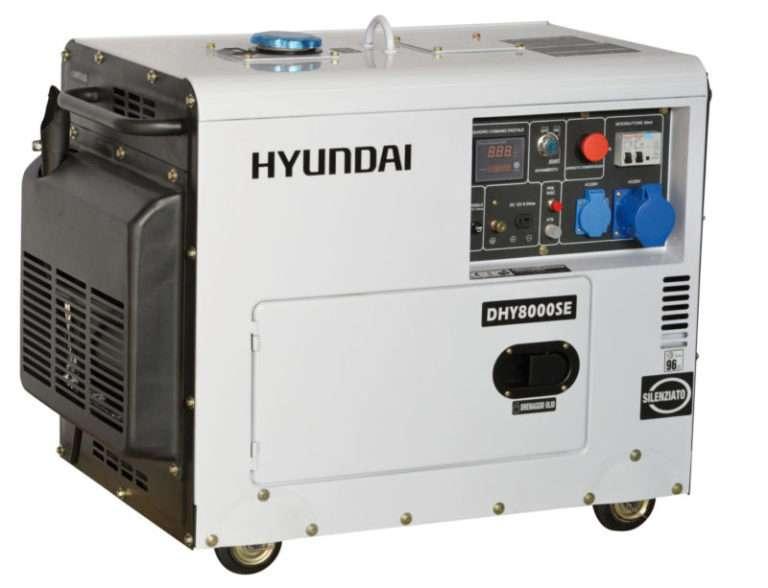 Generatore Hyundai monofase 6kw 65237